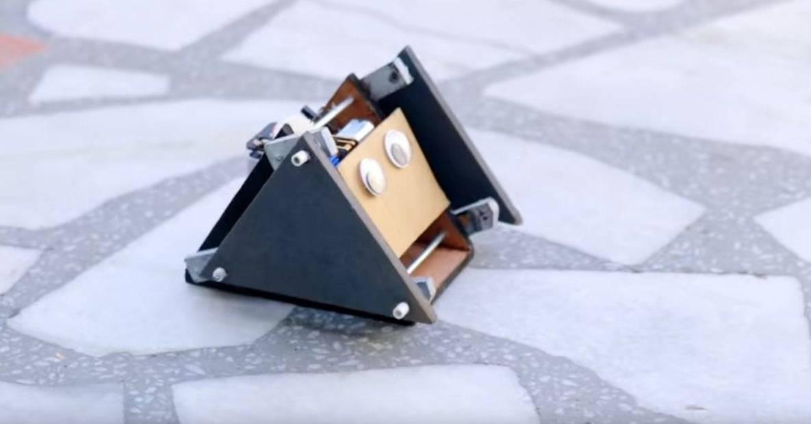 e300e4df2da1fcd86830bd03949697b7 - Как сделать шагающего робота-игрушку