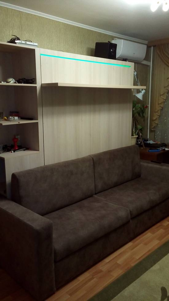 Делаем мебель 3-в-1. Шкаф-кровать-диван своими руками.