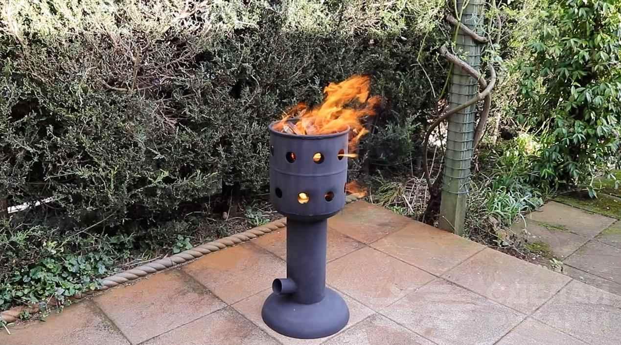 11af98de897f3d97e44df5adab5ea21b - Универсальная печка из газового (пропанового) баллона