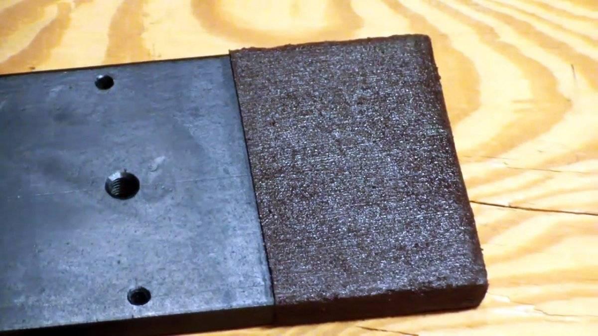 Как сделать обрезинивание металла.