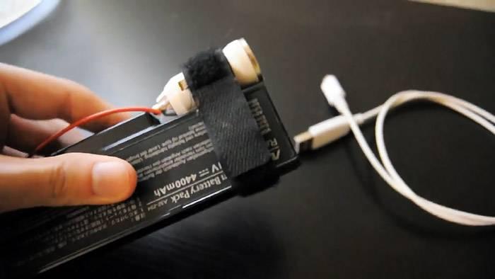 Как сделать павер банк 5 В из аккумулятора ноутбука за 1 минут