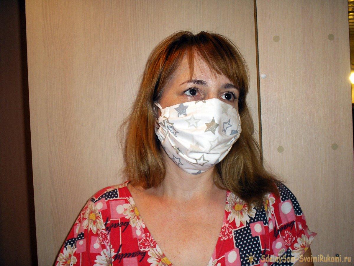 Шьем сами многоразовую маску защиты