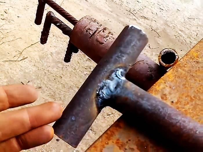 Самодельный бур из трубы своими руками