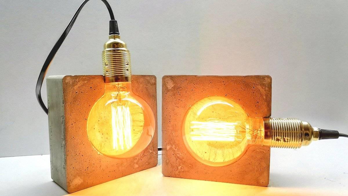 53258322108c110bf700b87de3118496 - Как сделать простой ретро светильник в стиле лофт
