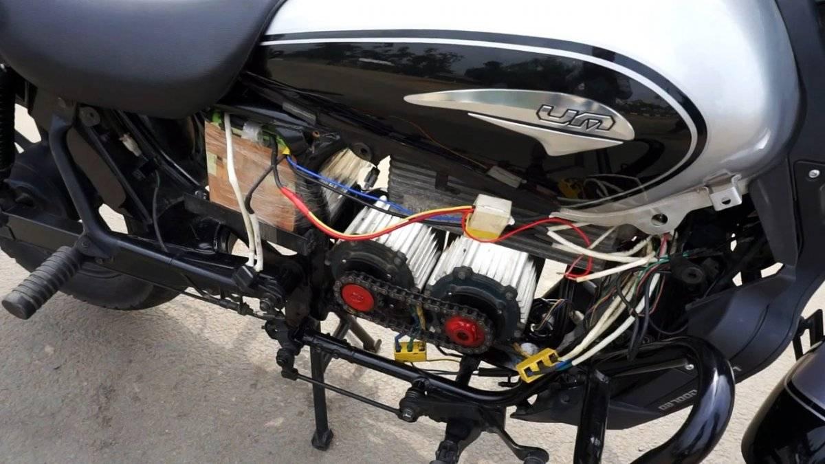 88e8cc37c858a48c6cc2a9a837e425fa - Как переоборудовать мотоцикл в электробайк развивающий скорость 80 км/ч