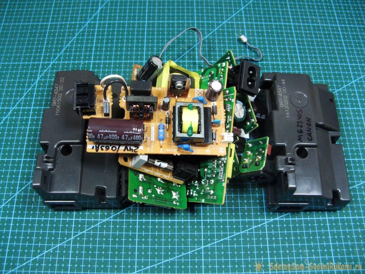 44c2ab100a0aa1e3110d204104a217a3 - Как переделать блок принтера в универсальный источник питания