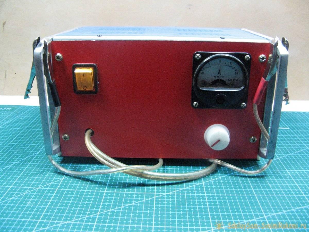 5a7c4bf1b3003a3fa23d2b390549774b - Как сделать зарядное устройство для аккумуляторов авто из доступных деталей