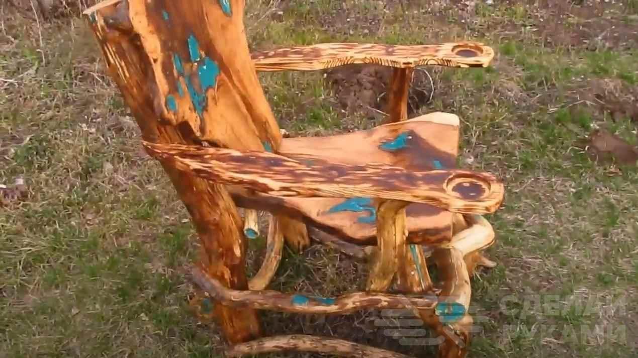 e99a3e00956ce9b71ca4431991424b8c - Классное кресло на дачу из коряг и веток