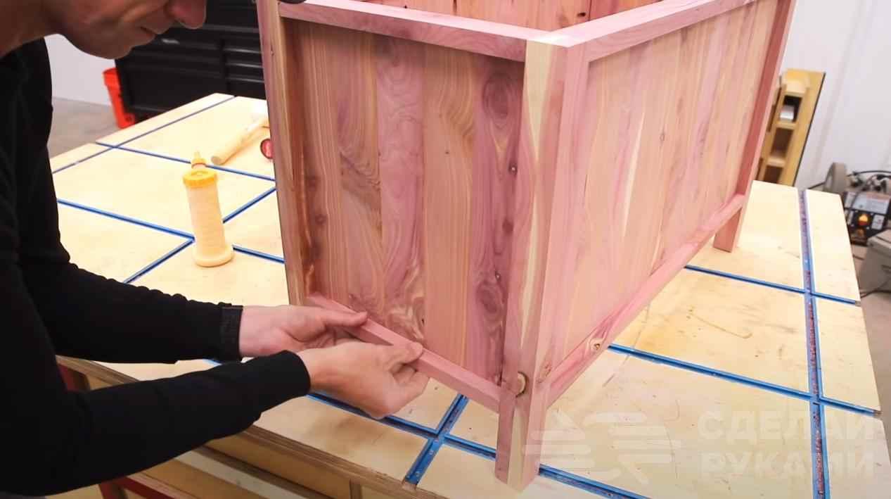 Деревянный цветник для дачи и дома своими руками