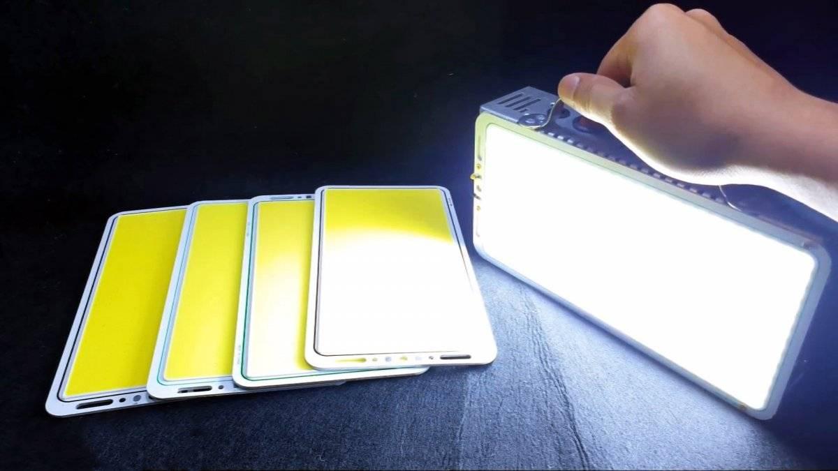 ee2bf0129289e1c3f4879109476c67ab - Как сделать мега мощный фонарь из старых аккумуляторов от ноутбуков и светодиодной панели