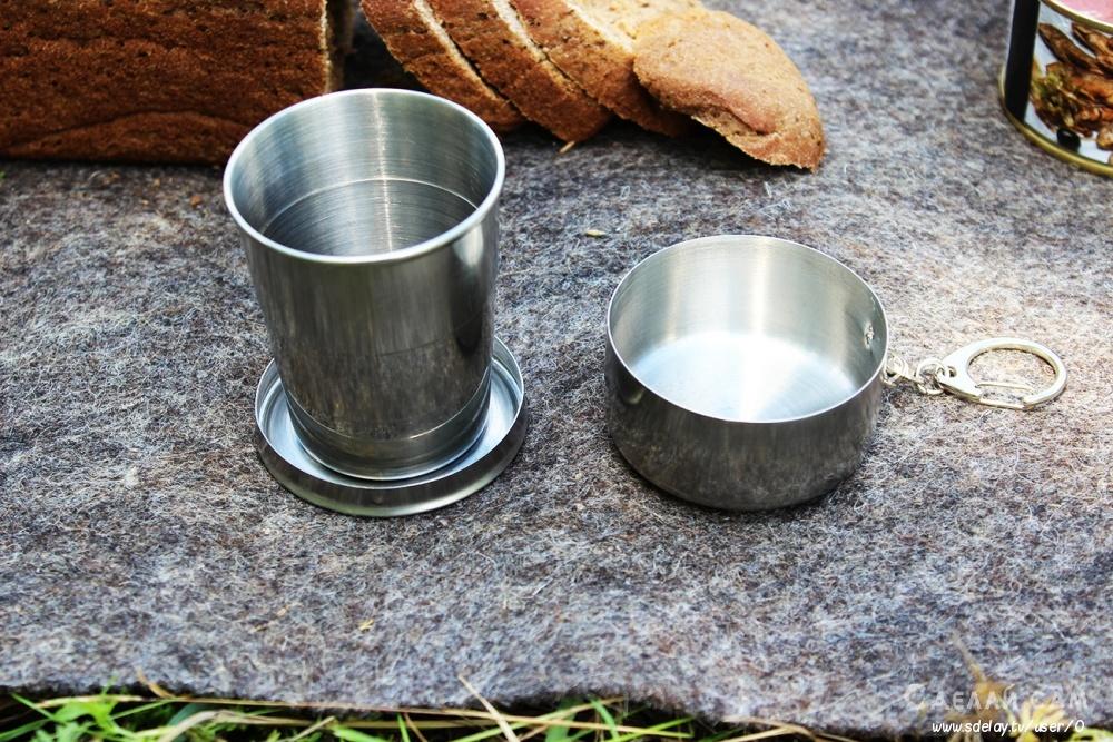 Складная полевая посуда. Посуда для кемпинга и туризма TRAMP
