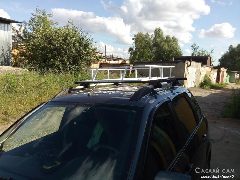 Грузовая корзина на крышу авто