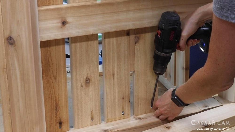 Стул-лежак для балкона своими руками